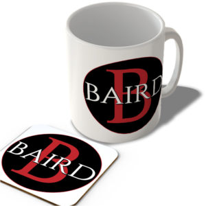 Baird – Mug and Coaster Set