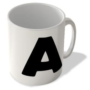 Alphabet Mug – A