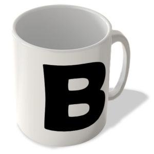 Alphabet Mug – B