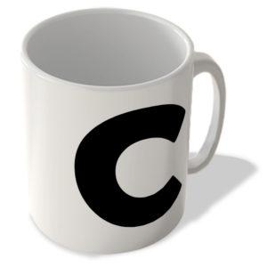 Alphabet Mug – C