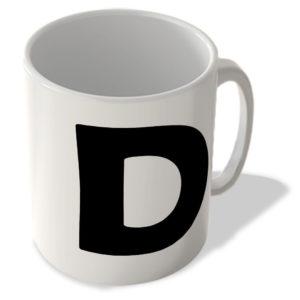 Alphabet Mug – D