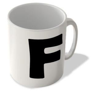 Alphabet Mug – F