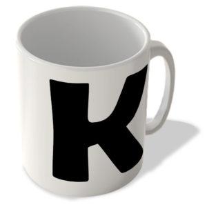 Alphabet Mug – K