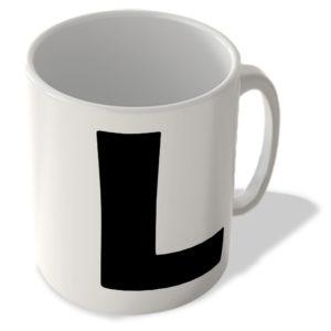 Alphabet Mug – L