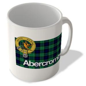 Abercromby – Scottish Clan Tartan – Scottish Mug