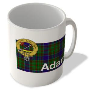 Adam – Scottish Clan Tartan – Scottish Mug