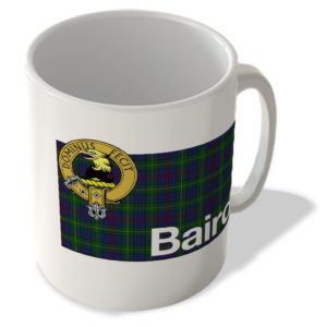 Baird – Scottish Clan Tartan – Scottish Mug