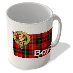 Boyd – Scottish Clan Tartan – Scottish Mug