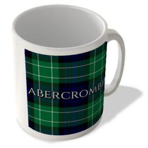 Abercrombie – Abercrombie Modern Tartan – (Full Background) – Scottish Mug