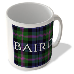 Baird – Baird Modern Tartan – (Full Background) – Scottish Mug