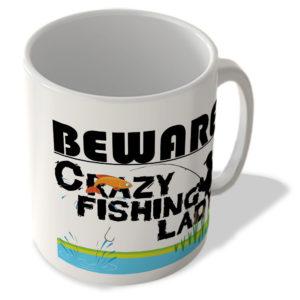 Crazy Fishing Lady – Mug