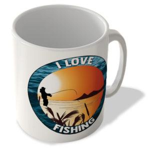 Love Fishing – Great For Fishing Lovers – Mug