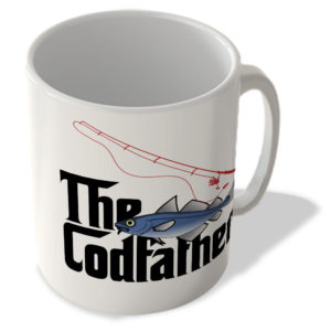 The Codfather (White Background) – The Godfather – Mug
