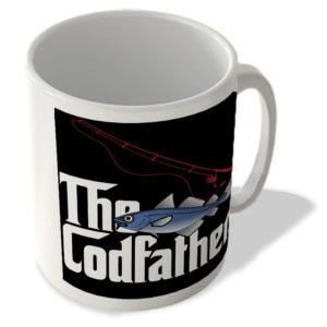 The Codfather (Black Rectangle Background) – The Godfather – Mug
