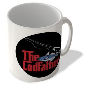 The Codfather (Black Circle Background) – The Godfather – Mug