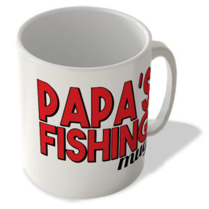 Papa's Fishing Mug – Mug