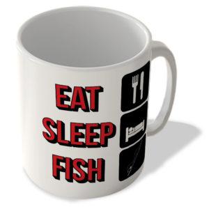 Eat Sleep Fish – Mug