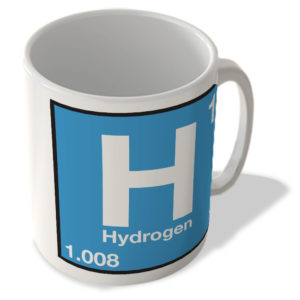 (1) Hydrogen – H – Periodic Table Mug