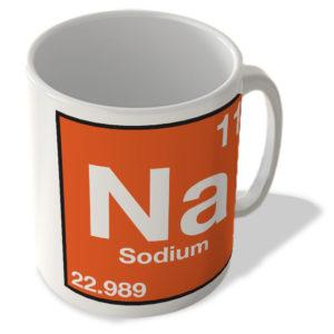 (11) Sodium – Na – Periodic Table Mug