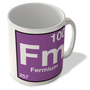 (100) Fermium – Fm – Periodic Table Mug
