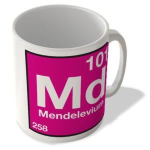 (101) Mendelevium – Md – Periodic Table Mug