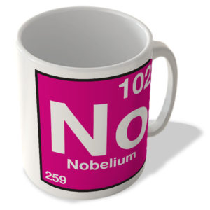 (102) Nobelium – No – Periodic Table Mug