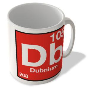(105) Dubnium – Db – Periodic Table Mug