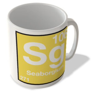 (106) Seaborgium – Sg – Periodic Table Mug