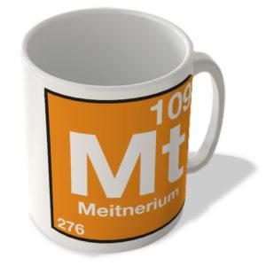 (109) Meitnerium – Mt – Periodic Table Mug