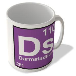 (110) Darmstadtium – Ds – Periodic Table Mug