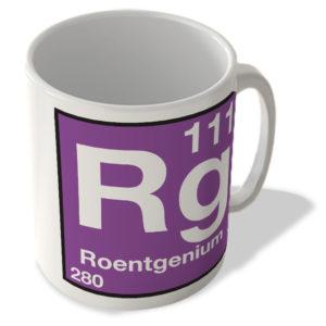 (111) Roentgenium – Rg – Periodic Table Mug