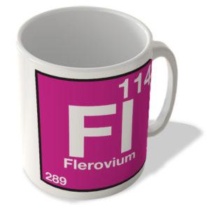 (114) Flerovium – Fl – Periodic Table Mug
