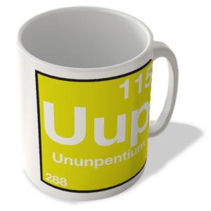 (115) Ununpentium Uup – Periodic Table Mug
