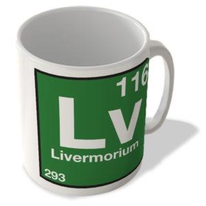 (116) Livermorium – Lv – Periodic Table Mug