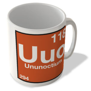(118) Ununoctium – Uuo – Periodic Table Mug