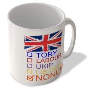 Check Boxes – None!!! – Mug