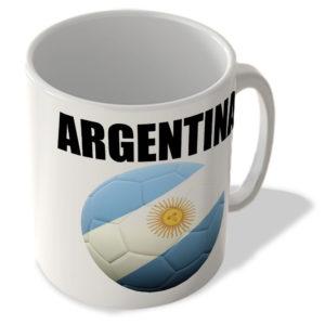 Argentina Flag – Football Mug