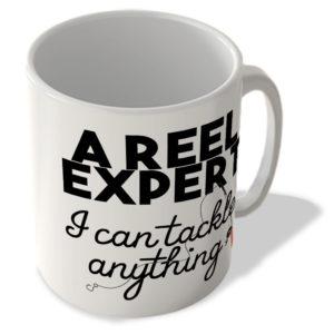 A Reel Expert – I Can Tackle Anything – Fishing – Mug