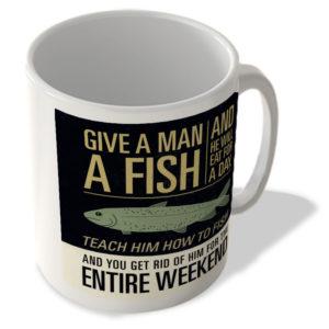 Give a Man a Fish… – Mug
