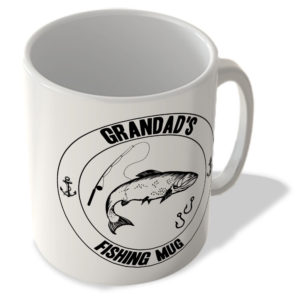 Grandad's Fishing Mug (White Background) – Mug