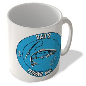 Dad's Fishing Mug (Blue Background) – Mug