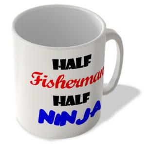 Half Fisherman – Half Ninja – Mug