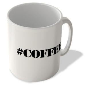 #Coffee – Hashtag Mug
