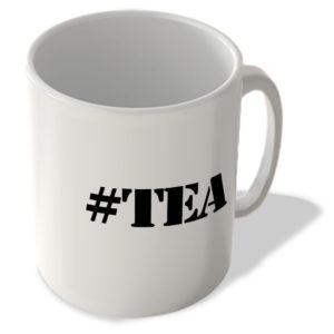 #Tea – Hashtag Mug