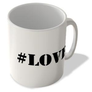 #Love – Hashtag Mug