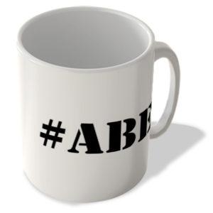 #Abe – Hashtag Mug