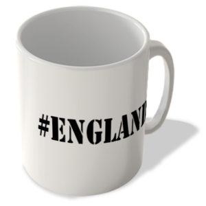 #England – Hashtag Mug