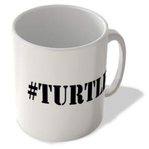 #Turtle – Hashtag Mug