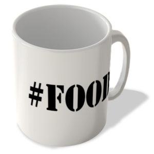 #Food – Hashtag Mug