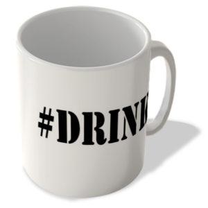 #Drink – Hashtag Mug